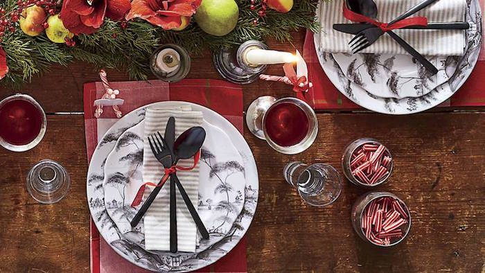 Classic China gets a Christmas Boost with these two inspiring table settings...                               Editor: Zoe Gowen.             Photo Editor: Jeanne Clayton.                                 Art Director: Robert Perino.                                     Prop Stylist: Buffy Hargett Miller.                    Photographer: Hector Manuel Sanchez.
